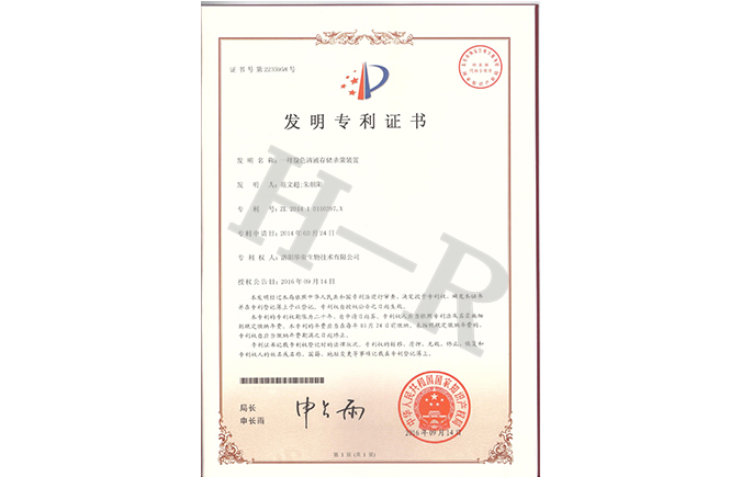 Patent Authorization Certificate
